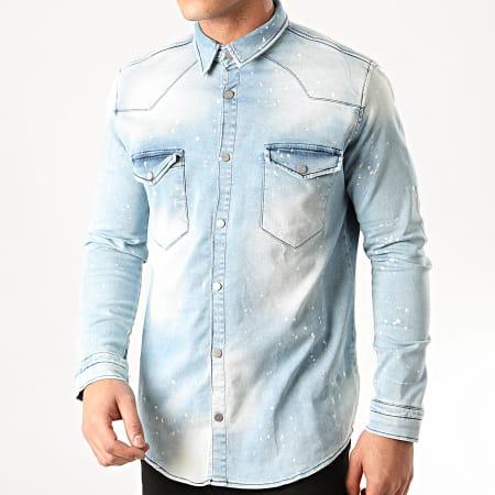 Uniplay - Chemise En Jean 278 Bleu Wash