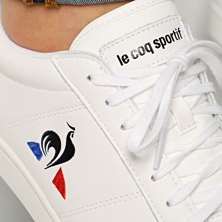 Le Coq Sportif - Baskets Courtset 2010081 Optical White Dress Blue