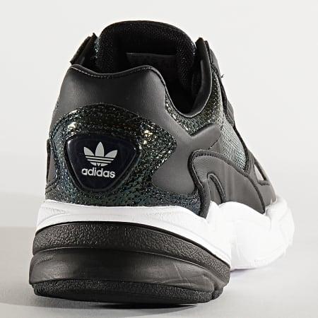 adidas - Baskets Femme Falcon EF5517 Core Black Cloud White Mystery Ruby