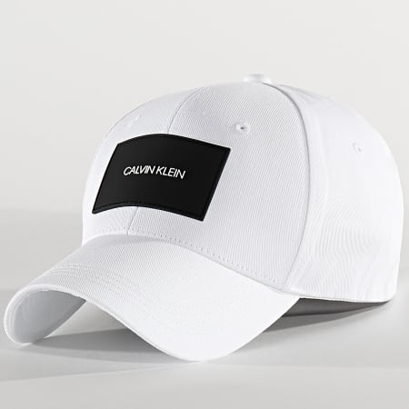 Calvin Klein - Casquette Baseball Twill 0660 Blanc
