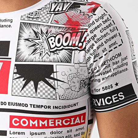 Mackten - Tee Shirt FX535 Blanc