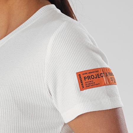 Project X - Robe Femme F207041 Blanc