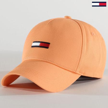 Tommy Jeans - Casquette Femme Flag Cap 8059 Pêche