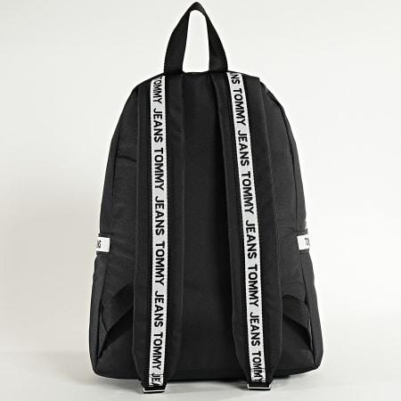 Tommy Jeans - Sac A Dos Logo Tape Backpack 5913 Noir