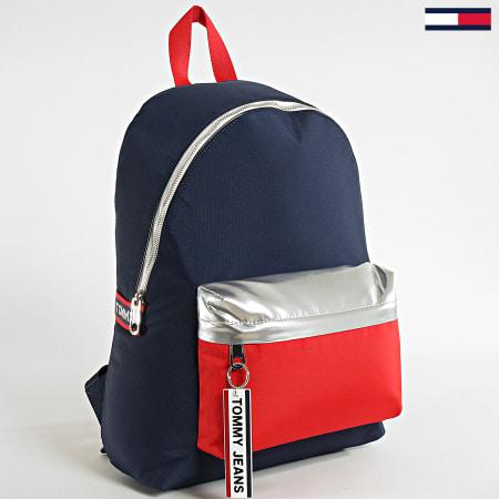 Tommy Jeans - Sac A Dos Logo Tape Backpack 5915 Bleu MArine