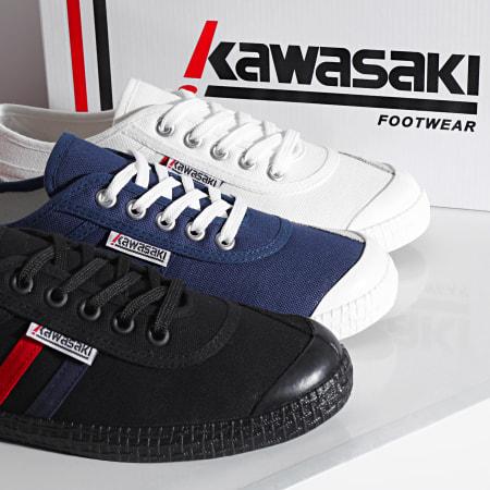 Kawasaki - Baskets Retro Canvas K192496 Black Solid
