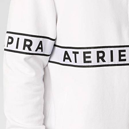 La Piraterie - Veste Zippée Paris Blanc