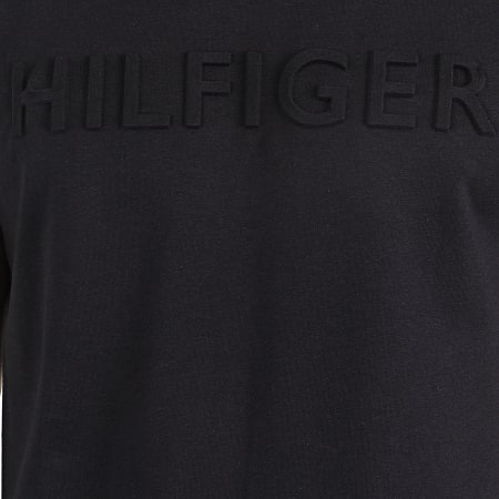 Tommy Hilfiger - Tee Shirt WCC Embossed Logo 2610 Bleu Marine