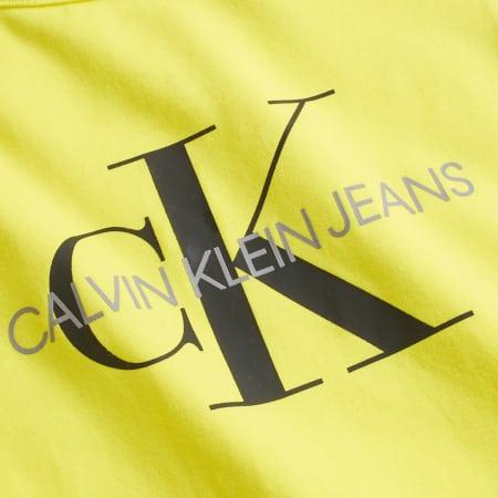 Calvin Jeans Klein - Débardeur Femme Crop 3050 Jaune