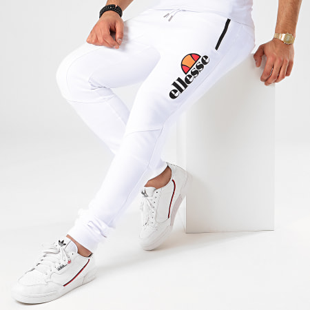 Ellesse - Pantalon Jogging Poynter SLB10142 Blanc