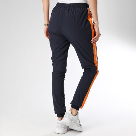 Ellesse - Pantalon Jogging Femme A Bandes Rosalla SGE08450 Bleu Marine