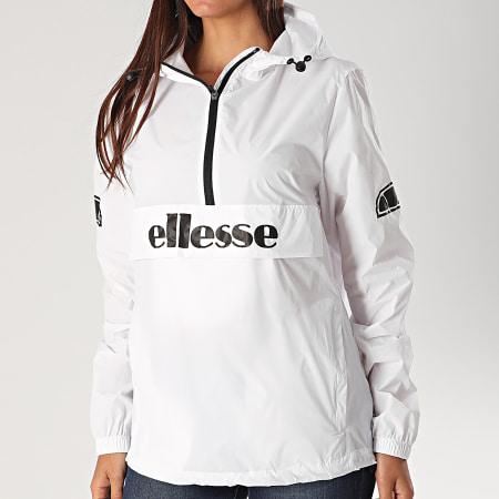 Ellesse - Coupe-Vent A Capuche Femme Becko SRE08271 Blanc - LaBoutiqueOfficielle.com
