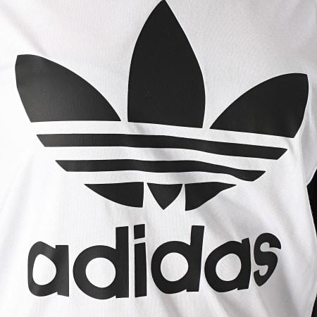 adidas Tee Shirt Femme Boyfriend FL4118 Noir Blanc