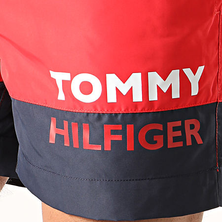 Tommy Hilfiger - Short De Bain Medium Drawstring 1682 Rouge
