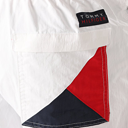 Tommy Hilfiger - Short De Bain Medium Drawstring 1697 Blanc