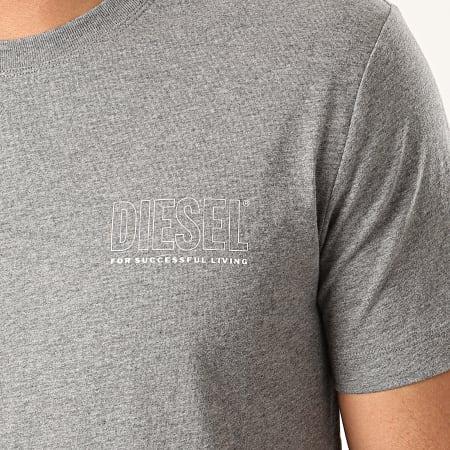 Diesel - Tee Shirt Jake Maglietta 00CG46-0QAZN Gris Chiné