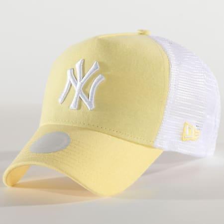New Era - Casquette Trucker Femme Jersey Essential 12285208 New York Yankees Jaune