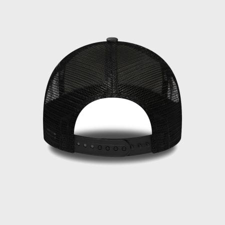New Era - Casquette Trucker Shadow Tech 12285270 Chicago Bulls Gris Chiné