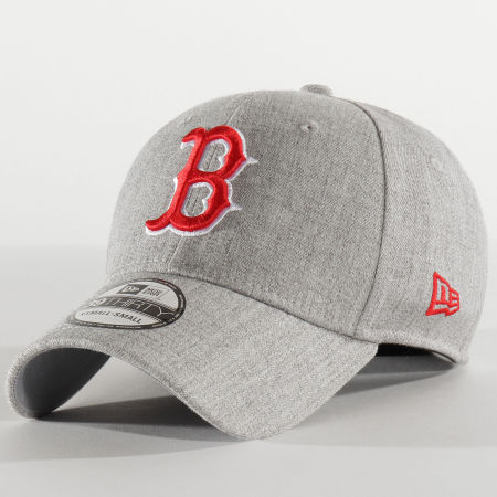 New Era - Casquette Fitted 39Thirty Heather 12285460 Boston Red Sox Gris Chiné