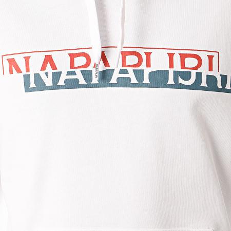 Napapijri - Sweat Capuche Bire A4E6I Blanc
