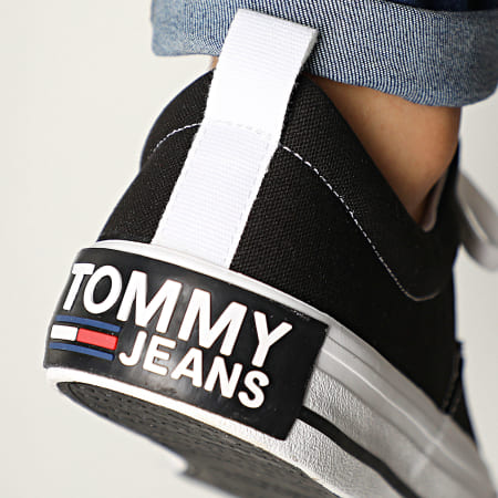 Tommy Jeans - Baskets Classic Low Tommy Jeans Sneaker 0405 Black