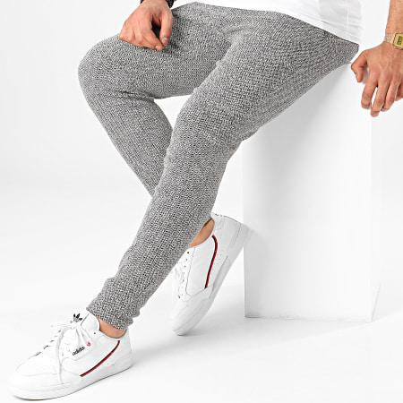 Frilivin - Pantalon 1703 Blanc Noir