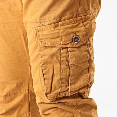 Terance Kole - Pantalon Cargo 13050 Camel