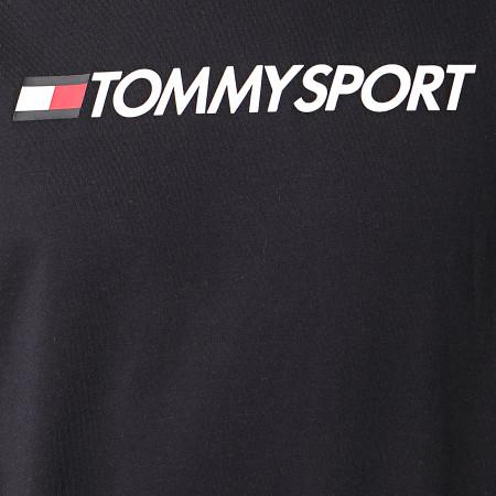 Tommy Sport - Débardeur HBR Logo 0358 Bleu Marine