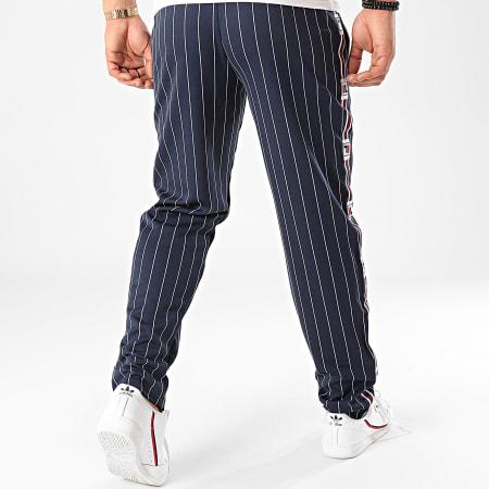 Fila - Pantalon Jogging A Bandes Haben AOP 687639 Bleu Marine
