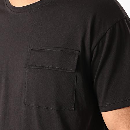 Frilivin - Tee Shirt Poche 13812 Noir