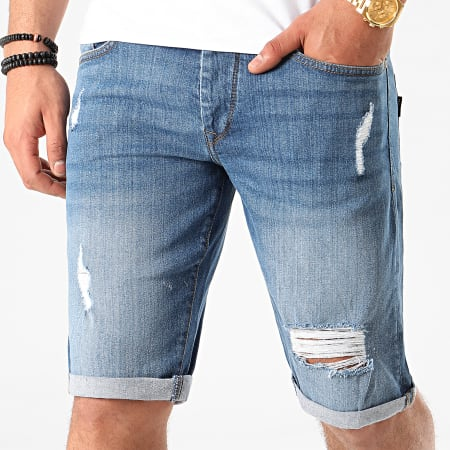 Tiffosi - Short Jean Slim Moloko Bleu Denim