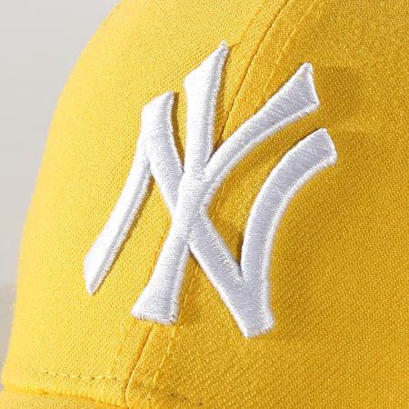 '47 Brand - Casquette MVP Adjustable MVPSP17WBP New York Yankees Jaune