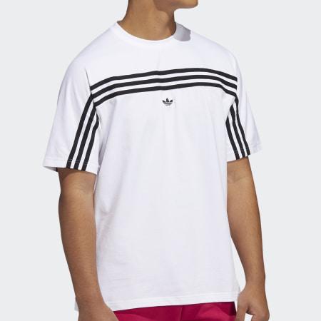 *adidas - Tee Shirt FM1529 Blanc