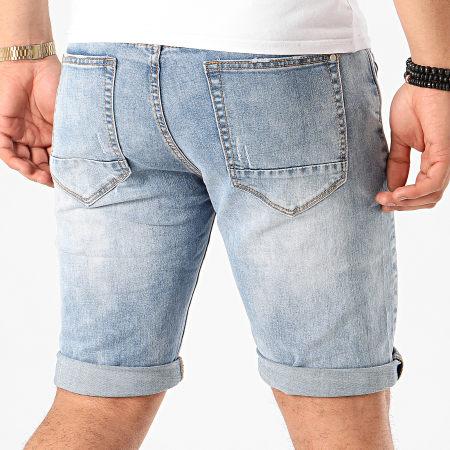 Terance Kole - Short Jean 11021 Bleu Denim