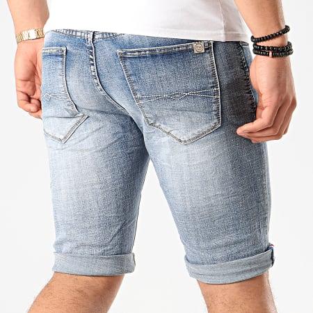 Terance Kole - Short Jean Skinny 18010 Bleu Denim