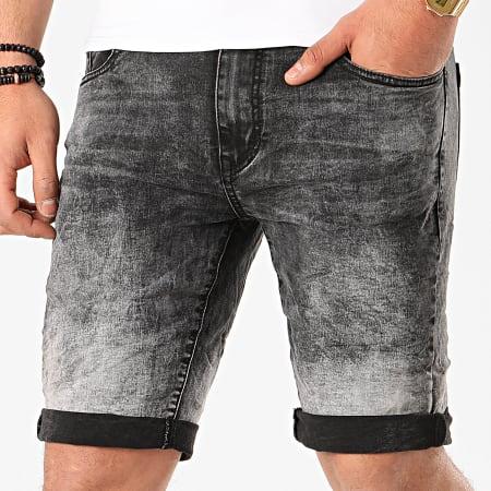 Terance Kole - Short Jean Skinny 18004 Noir
