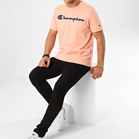 Champion - Tee Shirt 214194 Rose