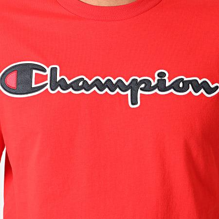 Champion - Tee Shirt 214194 Rouge