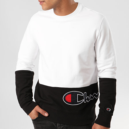 Champion - Sweat Crewneck 214206 Blanc