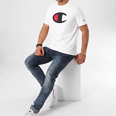 Champion - Tee Shirt 214405 Blanc