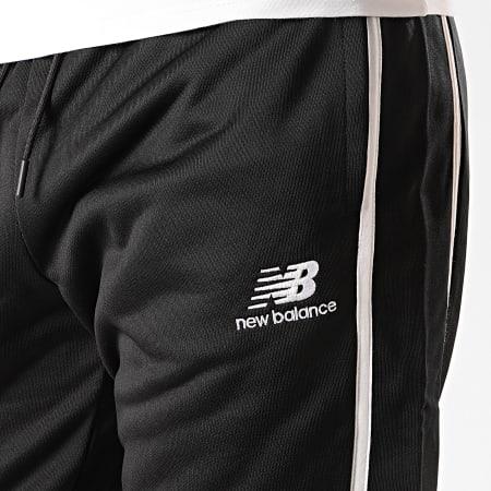 New Balance - Pantalon Jogging A Bandes 778940 Noir