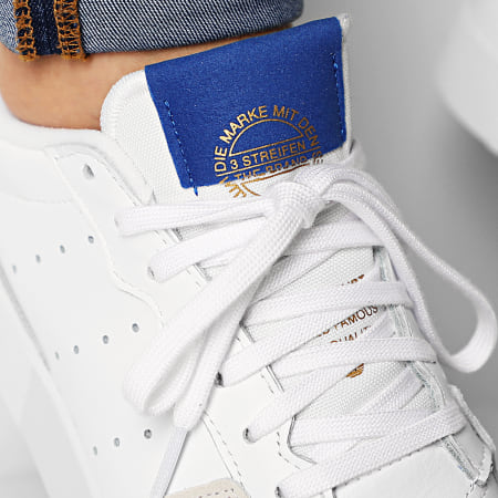 adidas - Baskets Supercourt EF5885 Cloud White Royal Blue