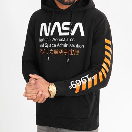 NASA - Sweat Capuche 1969 Noir