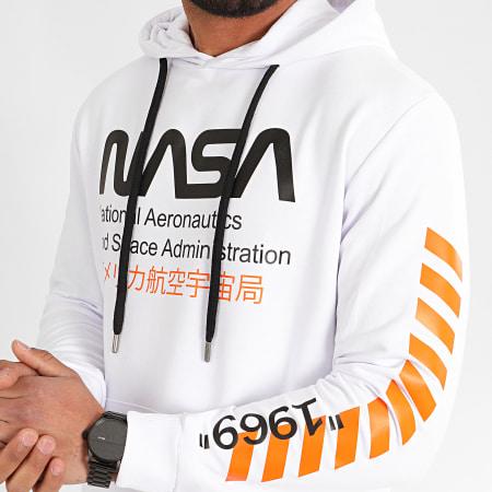 NASA - Sweat Capuche 1969 Blanc