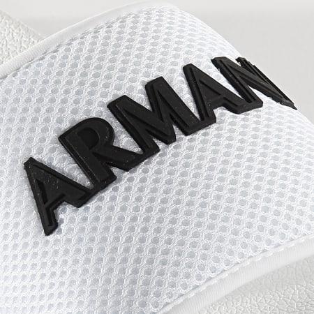 Armani Exchange - Claquettes XUP001-XV087 Blanc