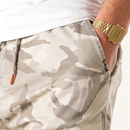 MZ72 - Short Chino Filou Beige Camouflage