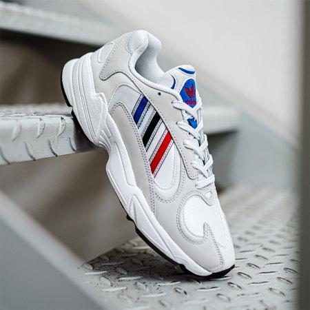 adidas - Baskets Yung-1 FV4730 Cryo White Silver Metallic Core Black