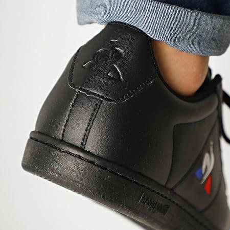 Le Coq Sportif - Baskets Courtset 2010082 Triple Black