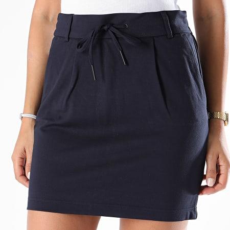 Only - Jupe Femme Poptrash 15132895 Bleu Marine
