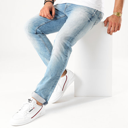 Pepe Jeans - Jean Regular Spike Bleu Denim